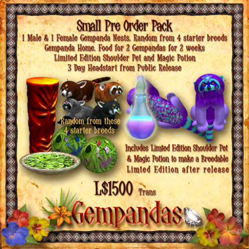 Small Pre Order Pack Purple Star